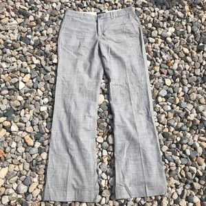 Banana Republic Martin Gray Pinstripe Trouser Pant